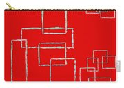 Red Squares Carry-all Pouch