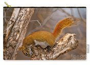 Red Squirrel Pictures 145 Carry-all Pouch