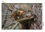 Red Squirrel Pictures 161 Carry-all Pouch