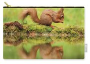 Red Squirrel Reflection Carry-all Pouch