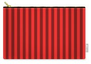 Red Striped Pattern Design Carry-all Pouch