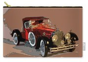 Red Stutz Carry-all Pouch