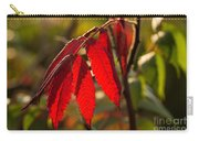 Red Sumac Leaves Carry-all Pouch