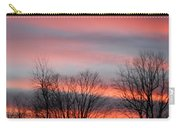 Red Sun Set Carry-all Pouch