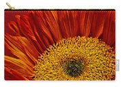 Red Sunflower Viii Carry-all Pouch