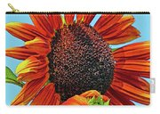 Red Sunflowers-adult And Child Carry-all Pouch