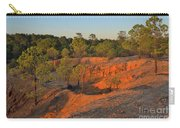Red Sunset Cliffs Carry-all Pouch