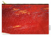 Red Surf On The Beach Carry-all Pouch