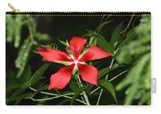 Red Swamp Hibiscus Carry-all Pouch