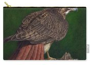 Red Tail Hawk Carry-all Pouch by Pat Erickson