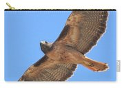 Red Tailed Hawk In Flight Carry-all Pouch