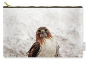 Red Tailed Hawk Portrait Carry-all Pouch