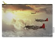 Red Tails Carry-all Pouch by J Biggadike
