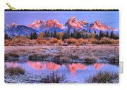 Red Tip Teton Reflection Panorama Carry-all Pouch