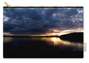 Red Toned Clouds Carry-all Pouch