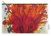Red Tree And Friends Carry-all Pouch