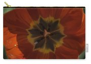Red Tulip Center Carry-all Pouch