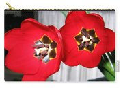 Red Tulip Duo Carry-all Pouch