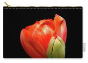 Red Tulip With Bud Carry-all Pouch