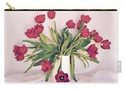 Red Tulips In Full Bloom Carry-all Pouch