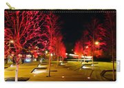 Red Urban Trees Carry-all Pouch