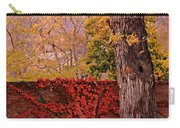 Red Vine With Maple Tree Carry-all Pouch