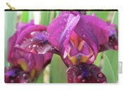 Red Violet Iris Carry-all Pouch