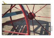 Red Waggon Wheel Carry-all Pouch