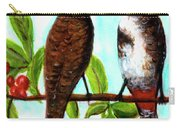 Red-whiskered Bulbul Bird, #246 Carry-all Pouch