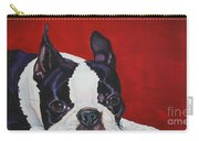 Red White And Black Carry-all Pouch