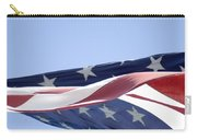 Red White And Blue - American Flag Carry-all Pouch