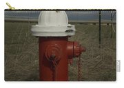 Red  White Hydrant Carry-all Pouch