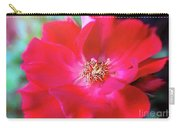 Red White Rose Carry-all Pouch