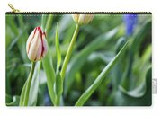 Red White Tulips Carry-all Pouch