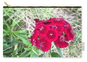 Red Wild Flowers Carry-all Pouch
