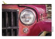 Red Willys Jeep Truck Carry-all Pouch