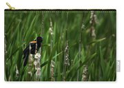 Red-winged Blackbird Calling Carry-all Pouch