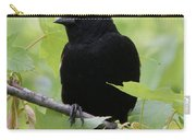 Red-winged Blackbird Carry-all Pouch by Doris Potter