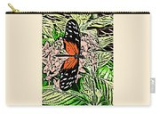 Red Winged Butterfly Carry-all Pouch