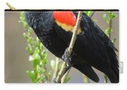Red-winged Perch Carry-all Pouch