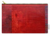 Red With Orange Carry-all Pouch by Michelle Calkins