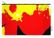 Red Yellow Abstract Carry-all Pouch