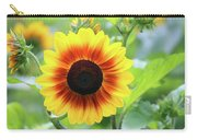Red Yellow Sunflower Carry-all Pouch