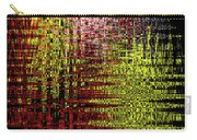 Red Yellow White Black Abstract Carry-all Pouch