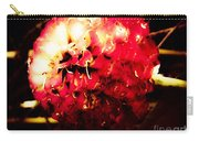 Red Zinnia Abstract Carry-all Pouch