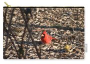 Redbird And American Golden Finch Carry-all Pouch