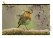 Redbreast Bird Carry-all Pouch