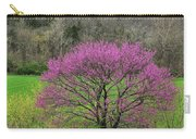 Redbud And Field In Jefferson County Carry-all Pouch