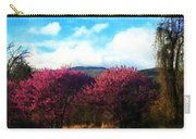Redbud In The Blue Ridge Carry-all Pouch