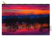 Reddening Sunset Carry-all Pouch
